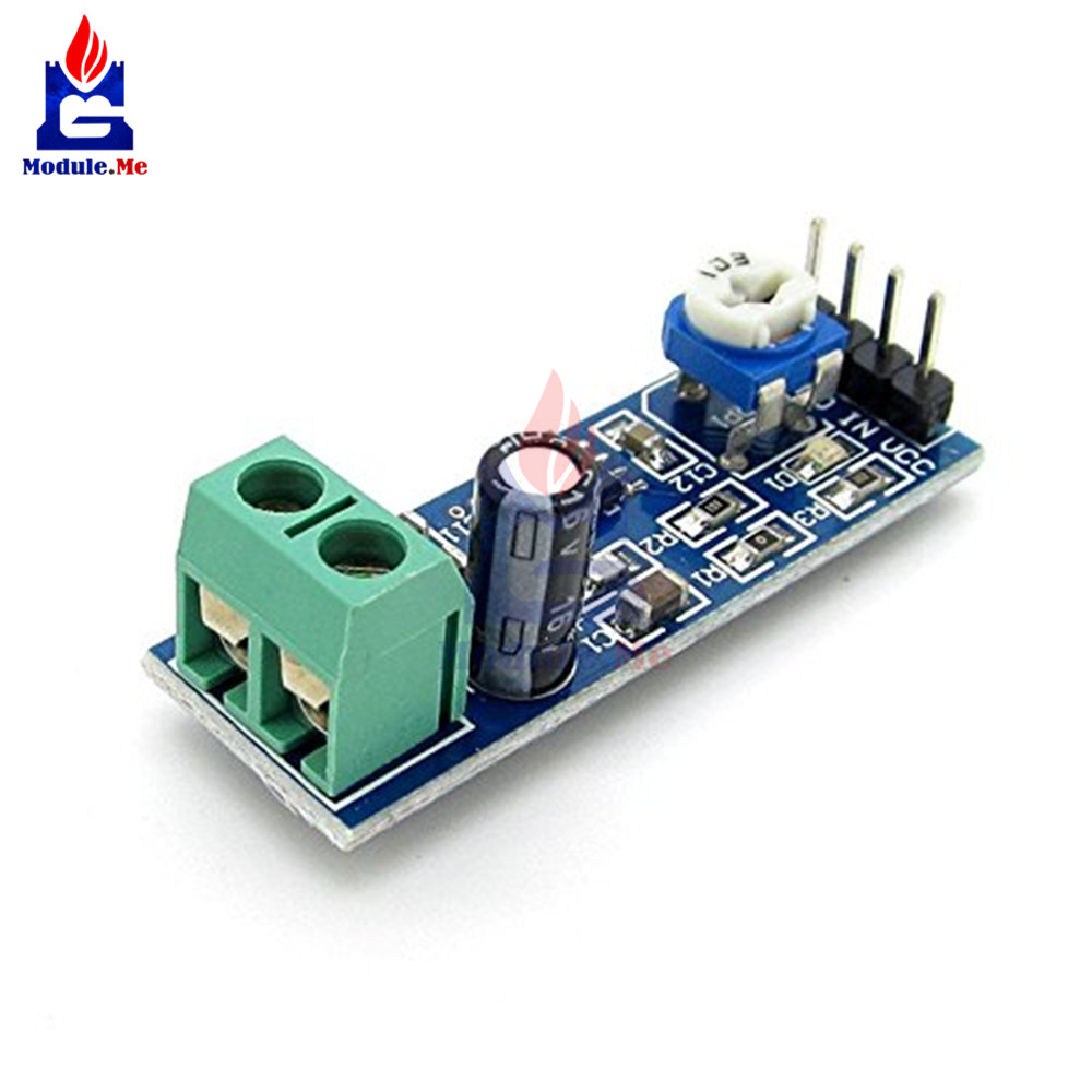 200 Times Gain Lm386 Audio Amplifier Module 10k Adjustable Working Operation Of Ic Resistance Board Multiplier Speaker Wire Holder 5v 12v In Integrated Circuits From Electronic