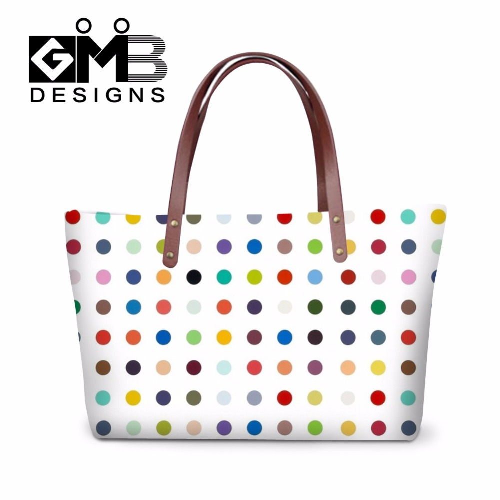 Dot handbag storage for Women,Shoulder handbag organizer insert for girls,Nice Summer Tote beach bag Messenger Bag ladies travel