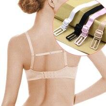 5 шт., двойные плечевые ремни, нескользящие ремни с пряжкой, плечевые ремни для бюстгальтера, Нескользящие задние ремни для бюстгальтера, регулируемый держатель, 4 цвета