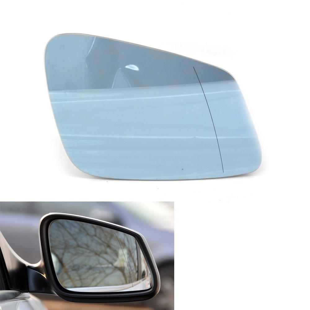 Right White Wing Mirror Cover For BMW 6 Series F10 F11 F18 7 Series F01 F02 LCI