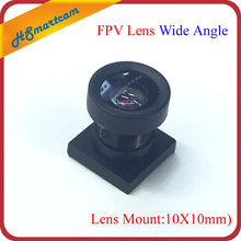 New 1/4 inch 2.1mm cctv mini lens 120 Degrees Wide Angle IR Board 650nm Lense for security mini camera (Lens Mount:10X10mm)