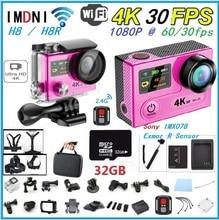 อัลตร้าHD 4พัน100% H8/H8Rการกระทำกล้อง4พันWiFi 1080จุดVR 360 Dมินิหมวกกันน็อคกีฬา2.0LCD + 0.95 170Dเลนส์ไป/proกันน้ำกล้อง