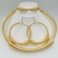 عالية الجودة يغيب مجموعات المجوهرات الساحرة ارتفع الذهب اللون العصرية الكلاسيكية تصاميم المجوهرات مجموعة دبي للأزياء النساء