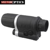 Вектор Оптика 3X42 3x увеличение Gen 1 + инфракрасный ИК Монокуляр Ночное видение прицел охота с шлем штатив