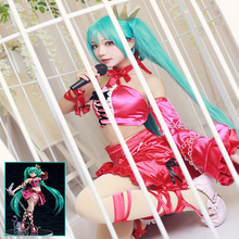 Anime Hatsune Miku Cosplay Costumes Max Factory Vintage Dress Costume Halloween Carnival Party Women Sexy