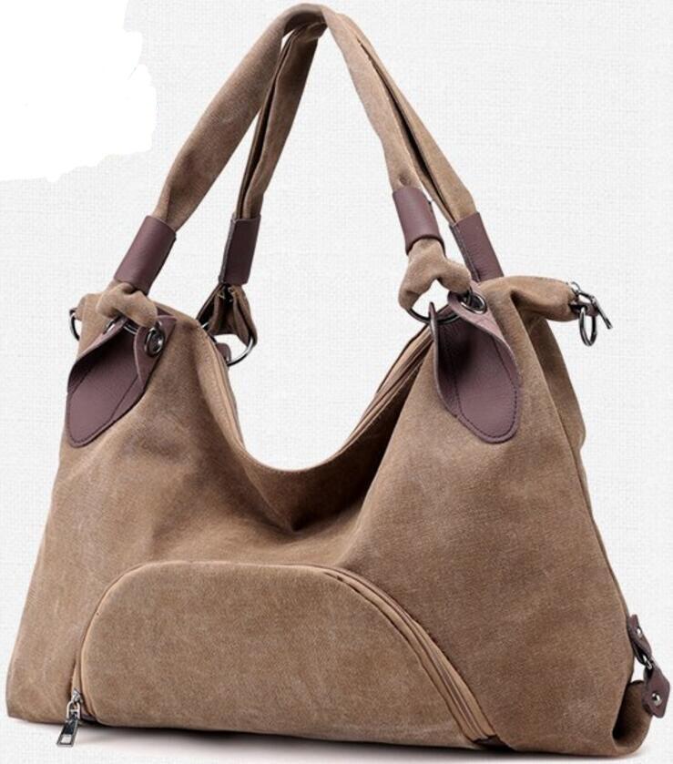 Woman Crossbody Bag Mochilas Mujer Hobos Canvas Handbags Bolsas Feminina Girls School Shoulder Bags Bucket Totes B180143