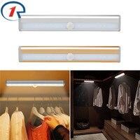 ZjRight Energy Saving Auto Motion Sensor 10LED Light Wireless PIR Cabinet Kitchen Bedroom Lamp Wardrobe Indoor