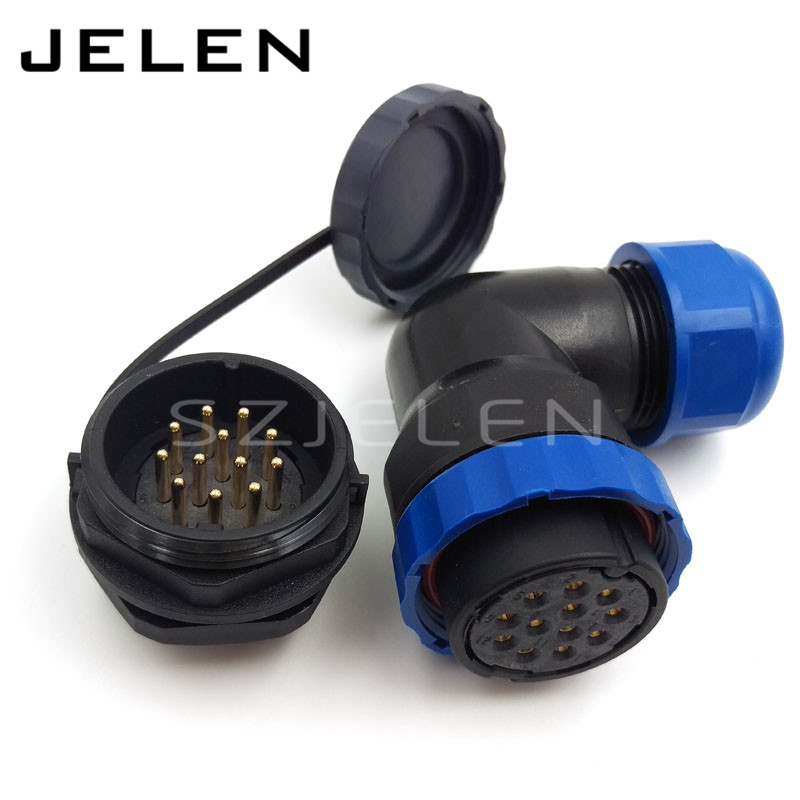 цена на SD28TA-ZM, 12 pin automotive connector auto connector types aviation connector, 12 pin panel mount waterproof connector IP67