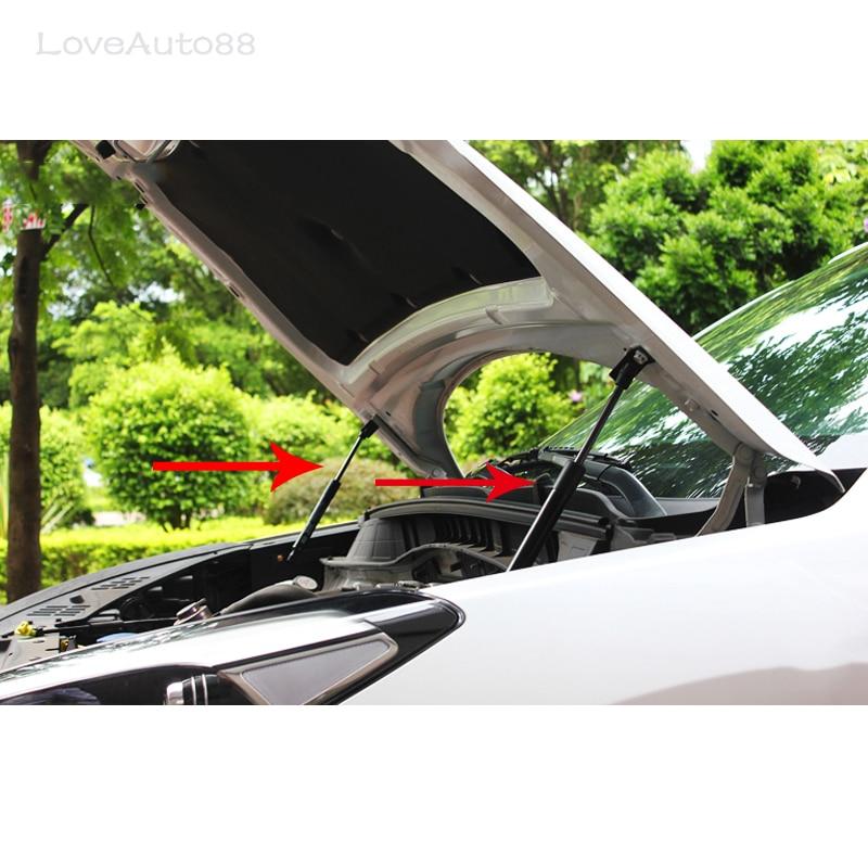 Capot de voiture capot amortisseur à gaz Support de levage voiture style pour 2007-2014 Skoda Octavia A5 A6 accessoires de voiture