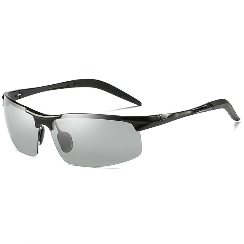 83cc124446f Aluminium Magnesium Frame Polarized Photochromic Sunglasses Mens Glare  Block Driving Fishing Sunglasses Transition Sunglasses-in Sunglasses from  Apparel ...