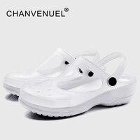 White Shoes For Nurse Summer Women S Garden Clogs Work Nursing Shoes Woman Mules Clogs Women