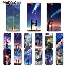 MaiYaCa Kiminonawa Your Name Japanese anime Phone Case For iphone 11 Pro 11Pro Max 8 7 6 6S Plus X XS MAX 5 5S SE XR