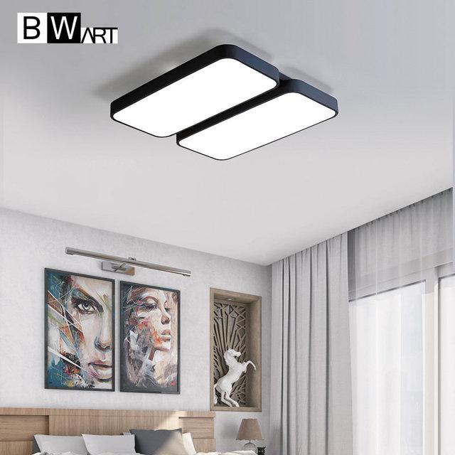 BWART Moderne LED Plafond lustre Pour Salon Chambre Grande Lampe ...