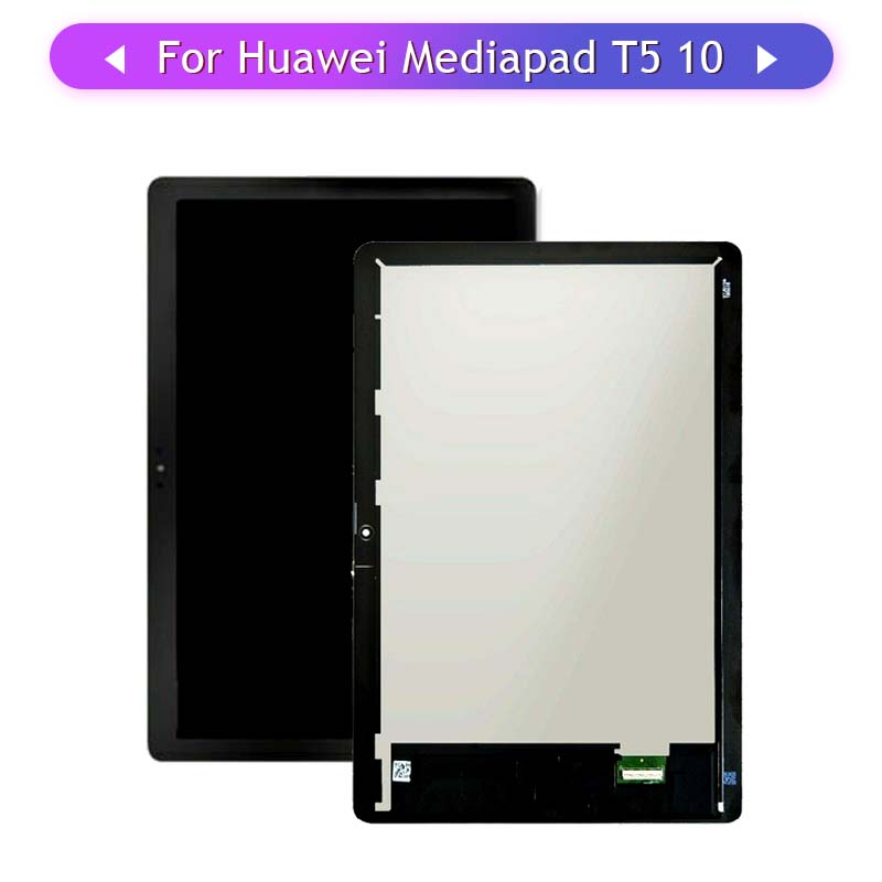 1PC For Huawei MediaPad T5 10 AGS2-L09 Complete Touch Screen Full LCD Display Assembly Glass Digitizer Replacement
