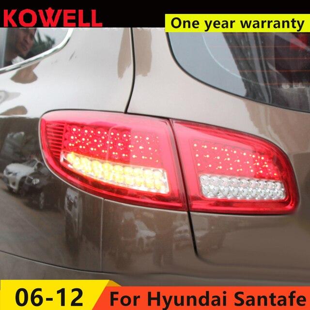 Kowell Car Styling For Hyundai Santafe Taillights 2004 2017 Santa Fe Led Rearlight Ix45 Rear