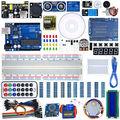 WeiKedz UNO Proyecto Súper Starter Kit con Lecciones de CD, relé, UNO R3, Cable de puente, SG90 Servo, Módulo de Joystick para Ar-du-ino