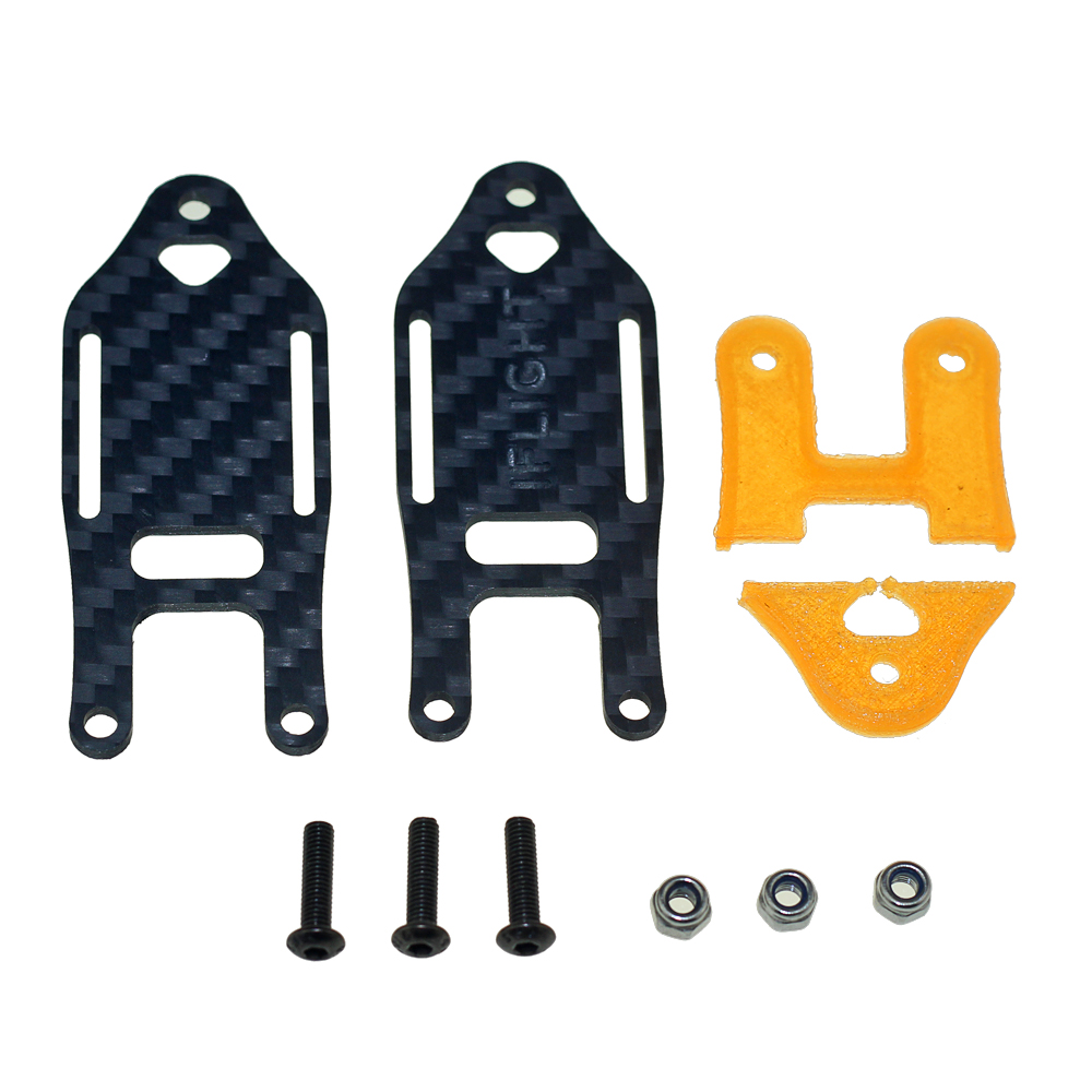 Image 2 - Iflight Super Lightweight Easy To Carry Knapsack Fastener Bundle Mount with Bettery Strap for FPV Backpack-in Parts & Accessories from Toys & Hobbies