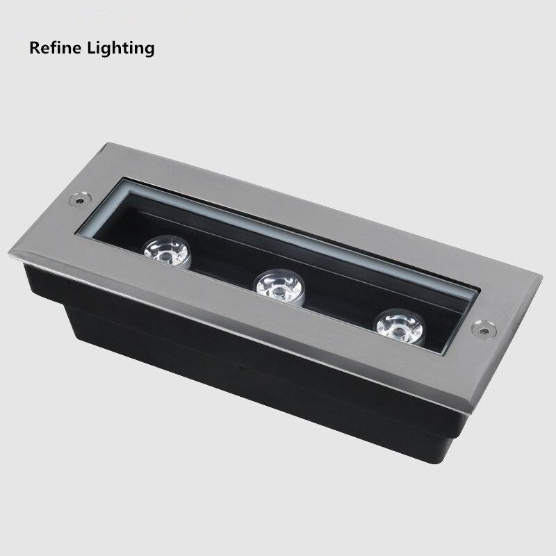 Stufenlicht Led led lights 3w outdoor 12v ac85 265v grondspot