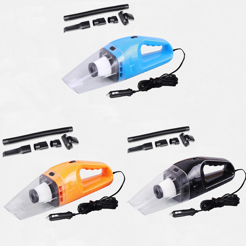 New 120w 12v Car Portable Handheld Vacuum Cleaner Wet And
