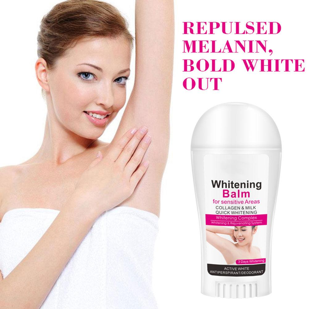 Deodorant Stick Brightening Fragrant Body Stick Skin Whitening Armpit Antiperspirant Stick Deodorization Bar Underarm Removal