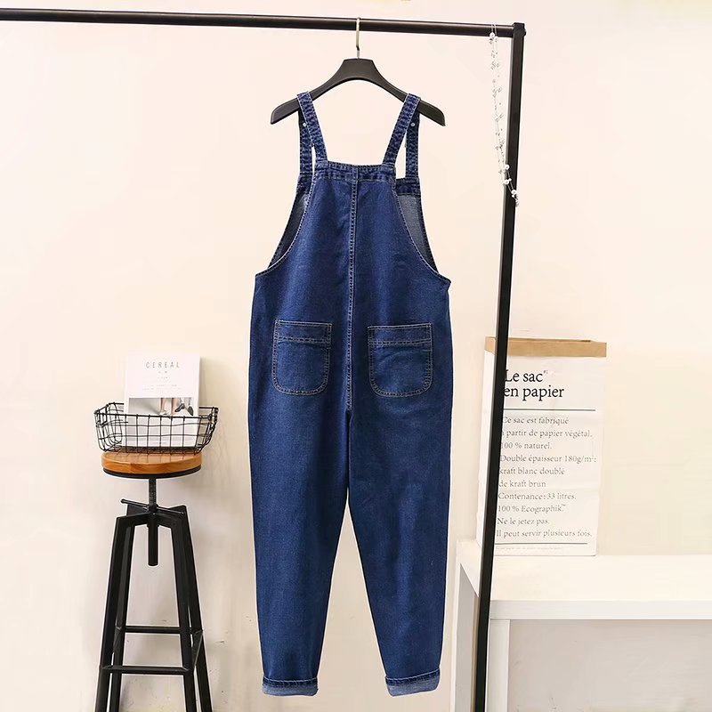 Brand New Jeans Overalls Women Denim Overalls Casual Suspenders Trousers Loose Plus Size Jeans KKFY3247 in Jeans from Women 39 s Clothing