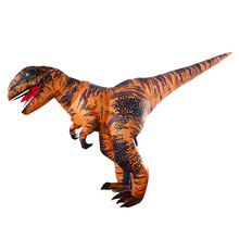 2019 New Pterosaur Inflatable Outdoor Toys Adult Dinosaur Dress UP T-Rex Clothes Christmas Halloween Party Decoration