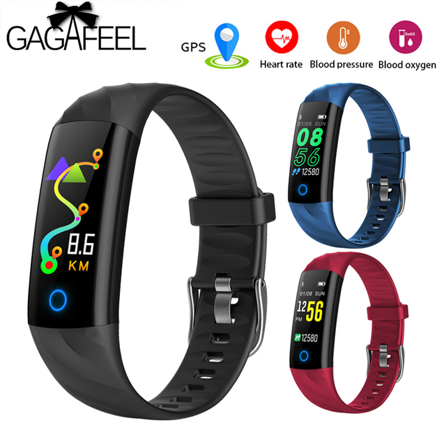 GAGAFEEL S5 Heart Rate Fitness Bracelet IP68 Waterproof Blood pressure oxygen Mo