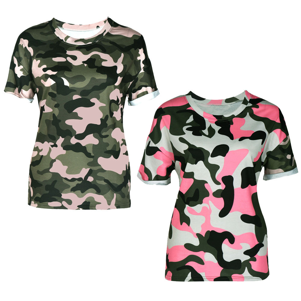 1b3283c6e100 Pink camouflage shirts for women summer cook jpg 1000x1000 Pink camo shirts  for women