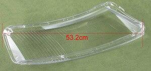 Image 5 - ヘッドランプカバーガラス透明ランプシェードランプシェードヘッドライトアウディ A6L A6 06 11 2 個