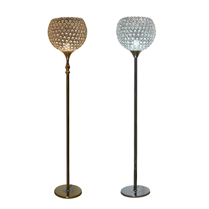 online buy wholesale crystal ball floor lamp from china. Black Bedroom Furniture Sets. Home Design Ideas