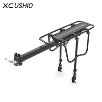 Universal Aluminum Alloy 90kg Max Loading Capacity Bicycle Bike Cycling Rear Seat Luggage Rack Mountain Bike Bicycle Accessories