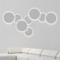 Modern Indoor LED Wall Lamps Creative Aluminum Wall Lights Bedroom Bedside Lamp 4W 18W 28W LED