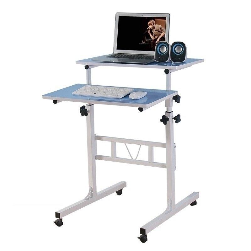 F #8236 и стильный дом ленивый ноутбук простой мобильный подъема стенд Office для настольных comter стол Бесплатная доставка