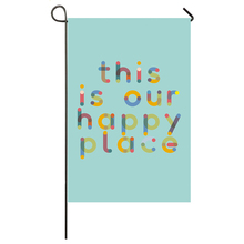 This Is Our Happy Place Garden Flag Home Decor Flags Happy Festival Household Hanging Flag what time is this place paper
