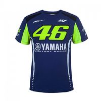 Moto GP Valentino Rossi VR46 For Yamaha M1 Dual Racing Blue Men S T Shirt
