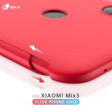 GKK Original Case for Xiaomi Mi Mix 3 Slide Armor Anti-drop 2 in 1 Hard Matte Back Cover mi mix3 Fundas