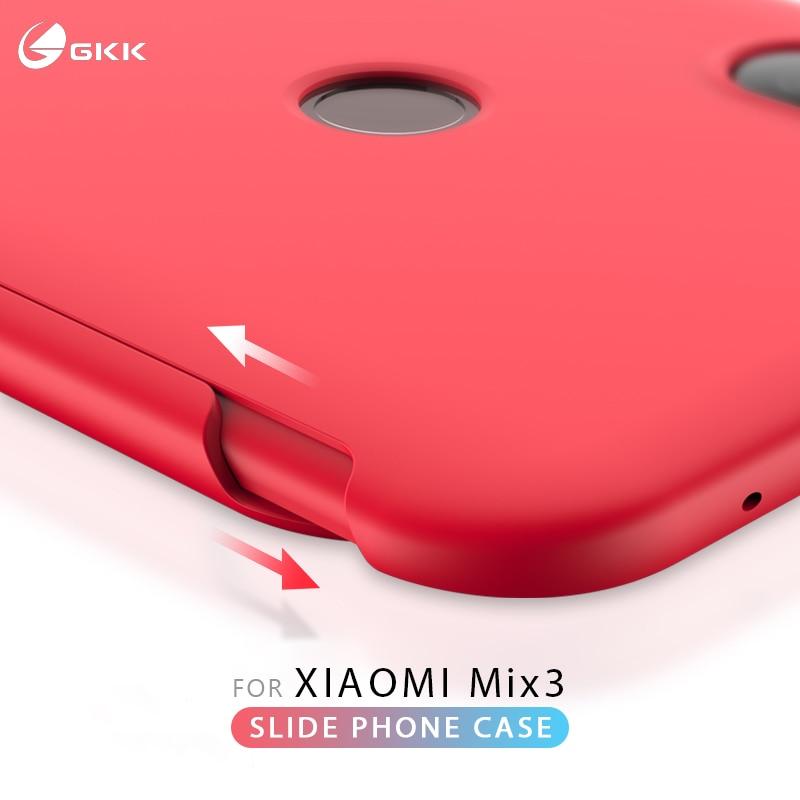 GKK Original para Xiaomi mi x 3 Caso diapositiva armadura 2 en 1 duro mate Anti-caída cubierta trasera para Xiaomi mi x 3 Fundas Coque