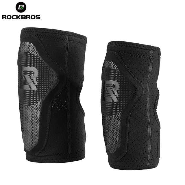 ROCKBROS Children Sports Elbow Pads Arm Leg Protector Elastic Basketball Football Skating Support Bicycle Elbow/Knee Protector