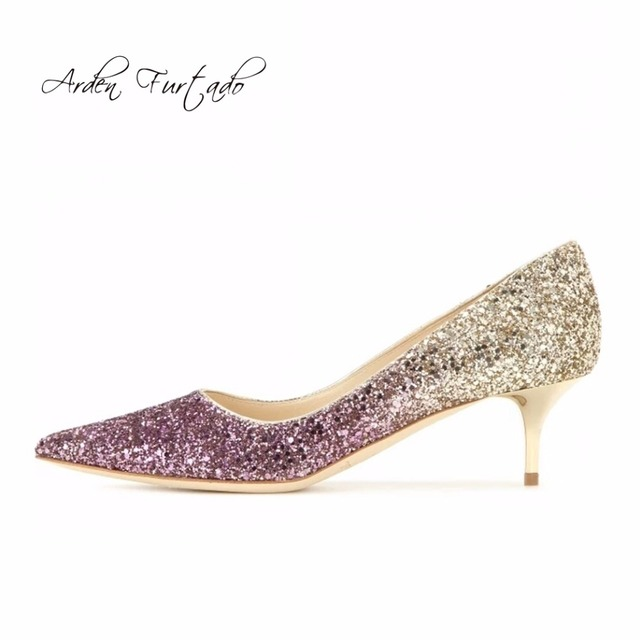 new arrival 2017 fashion thin high heels 6cm sexy party Stilettos slip on flowers wedding dress shoes for woman genuine leather pumps women visit new cheap online BcyYu