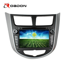 Car DVD Player For Hyundai Accent & Verna 2014 With Steering Wheel Wifi OBDII Bluetooth phone Call 3G Wifi SD/USB/DVD 1
