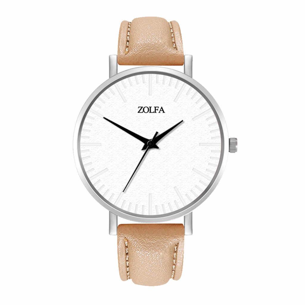 ساعة يد نسائية فاخرة موضة 2020 ساعة يد نسائية من الكوارتز عالية الجودة مصنوعة من الزجاج الأزرق ومقاومة للمياه ساعات متميزة Reloj Mujer