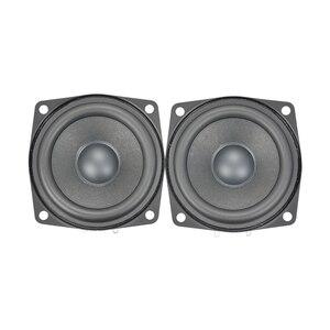 Image 5 - AIYIMA 2 قطعة 2.5 بوصة كامل تردد باس المتكلم الصوت باس وحدة مكبر الصوت مجموعة كاملة Hifi مكبر الصوت الصوت سماعات صغيرة 4Ohm 15 واط