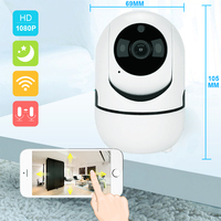 HD 1080P Wifi Camera Cloud Wireless IP Camera Intelligent Auto Tracking Network Home Security CCTV Camera with LAN port