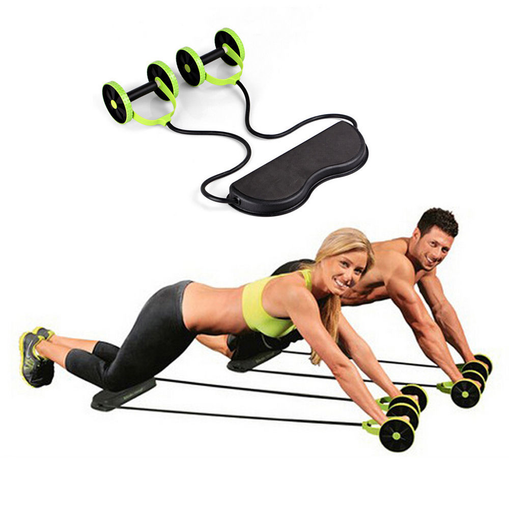 Mens Womens Fitness Revoflex Xtreme Abdominal ABS Powerful Trainer Workout Kit