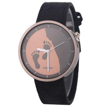 TZ#501 Fashion Footprint Bracelet Watch Ladies Denim Casual Watch For Gift Free Shipping
