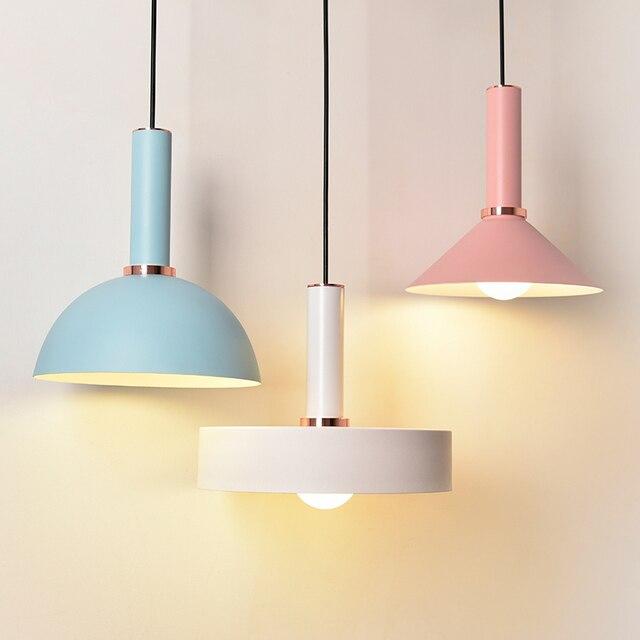 Livewin Colorful Pendant light Modern Suspension Hanging lamp Restaurant Lustres Art Deco Living Dining room Luminaire Lamparas