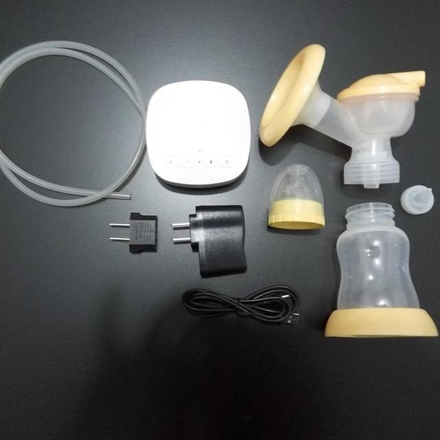 Electric Breast Pump with Powerful Nipple Suction