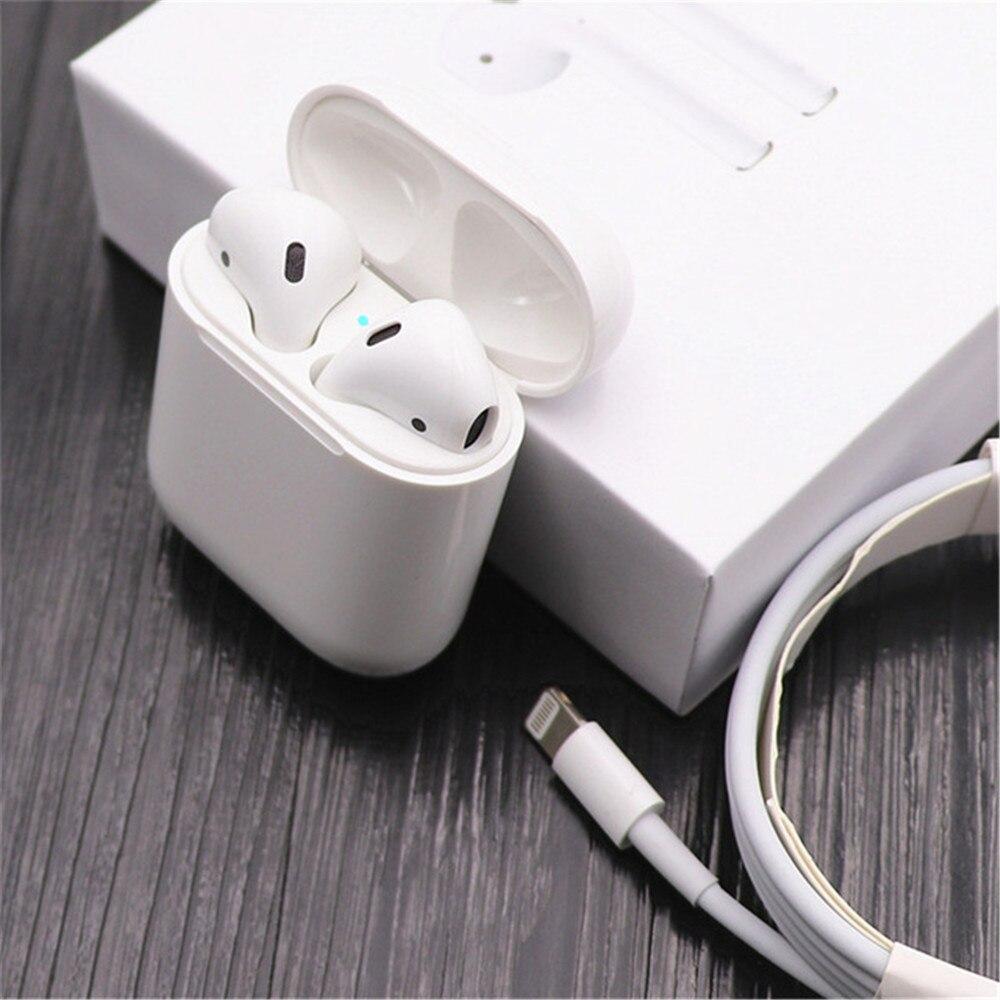 Pop up haute qualité marque 2 avec étui de charge sans fil Bluetooth écouteur 4D stéréo musique pour IOS avec puce H1 meilleurs sons
