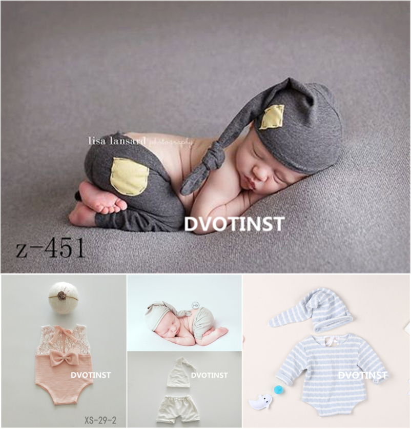 dvotinst newborn fotografia aderecos bonnet rendas outfits calcas chapeu bandana roupas acessorios studio shoot foto prop