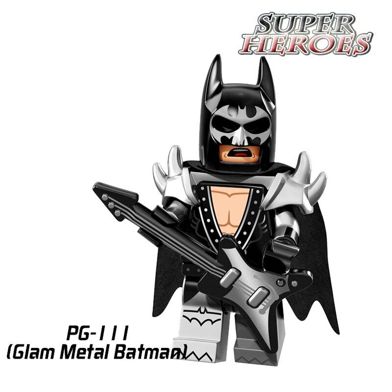 Action Figures Metal Batman 2017 Batman Movie Super hero Star Wars Building Blocks Sets Models Kids DIY Educational Toys PG111 chrome aluminum motorcycle spike air cleaner intake filter case for honda shadow vlx600 vt600cd deluxe 1999 up